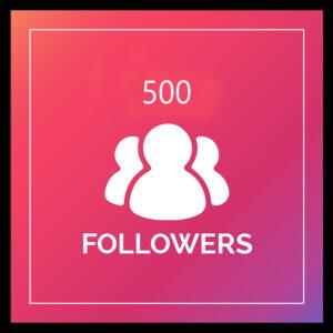500 real ig followers